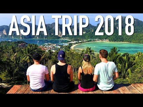 Asia Trip 2018 (Thailand, Kuala Lumpur, Singapore)