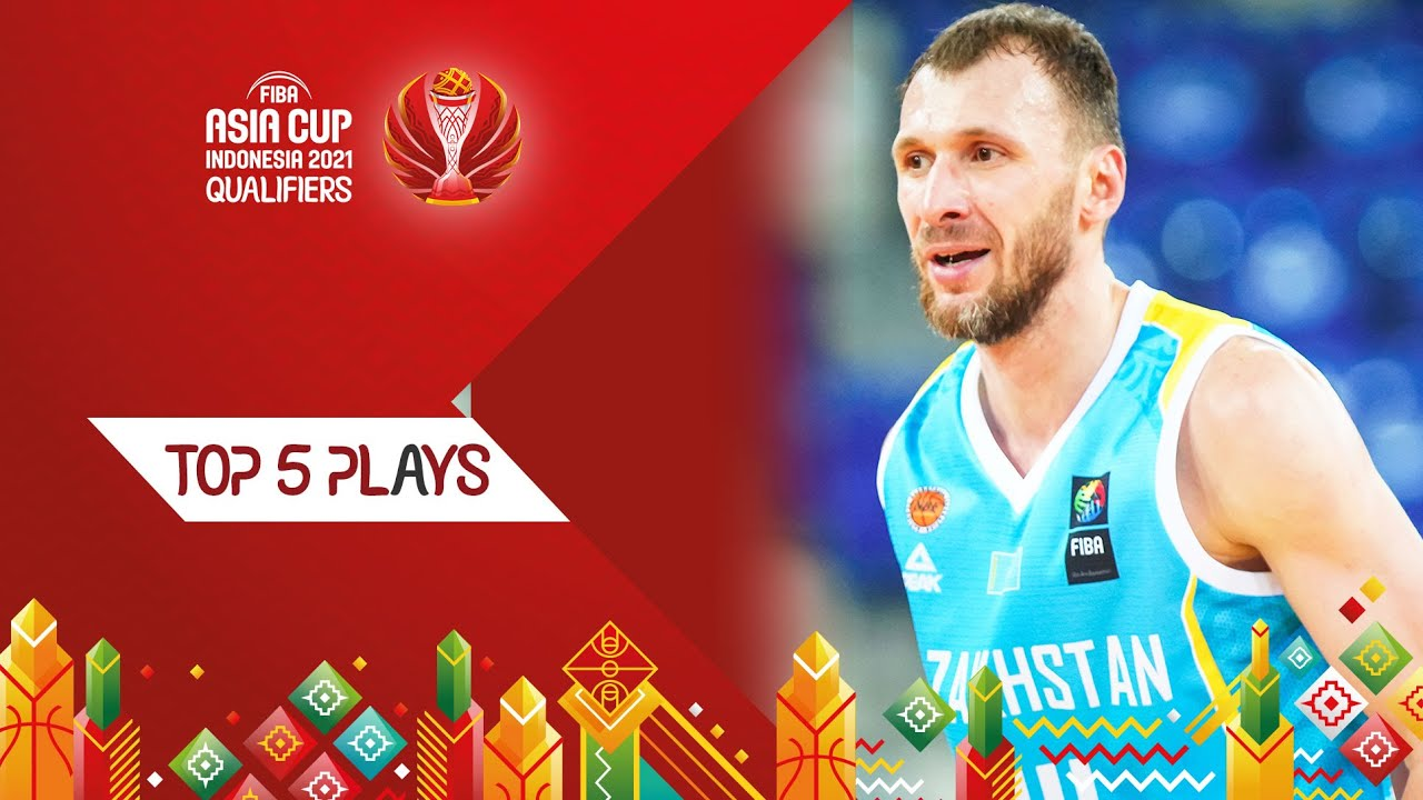 Top 5 Plays - FIBA Asia Cup 2021 Qualifiers