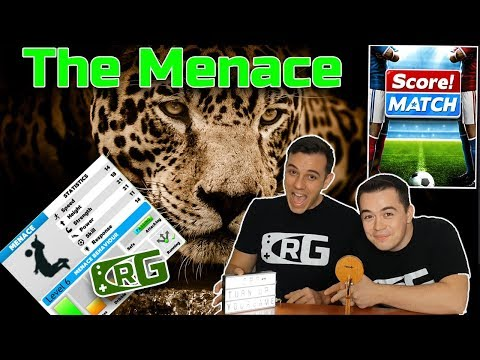 E030 - CRG, Score! Match - The Menace: Not easy to stop this beast from scoring goals