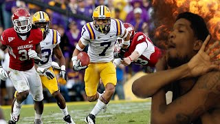 BROKE 14 TACKLES...IN ONE PLAY!! TYRANN MATHIEU LSU HIGHLIGHTS REACTION!