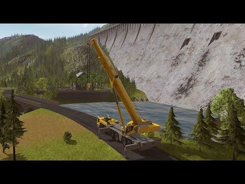 Construction Simulator 2015 - Liebherr LTM 1300 6.2 DLC