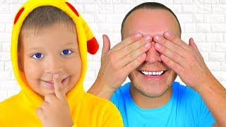 Peek A Boo  -  Kids Song