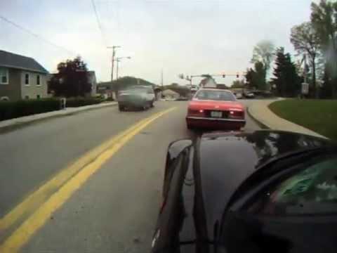 BMWs drive through Pennsylvania