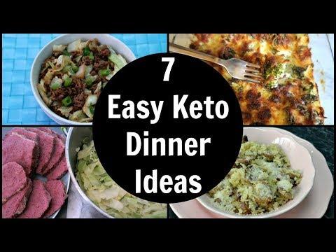 7 Easy Keto Dinner Ideas | Low Carb Dinner Recipes