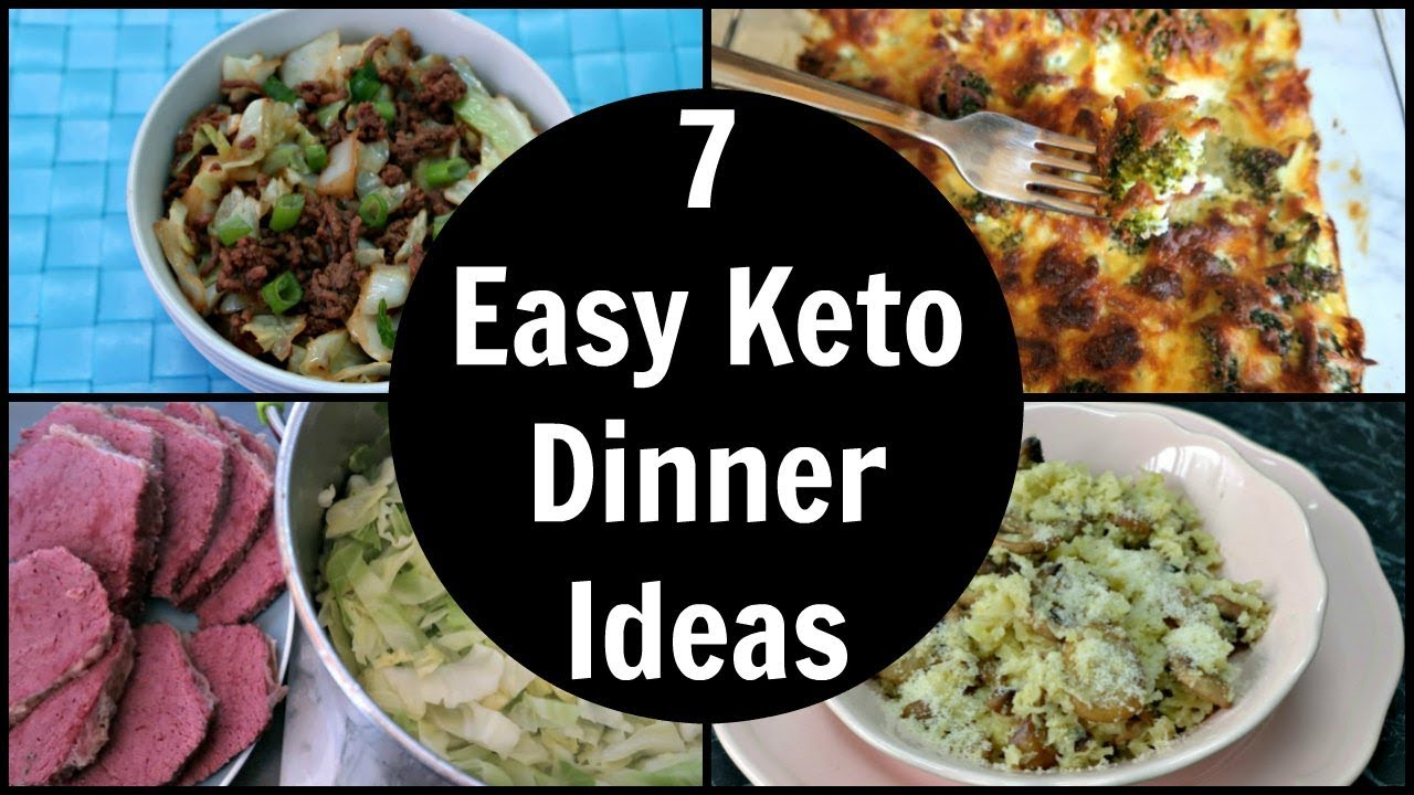 7 Easy Keto Dinner Ideas | Low Carb Dinner Recipes