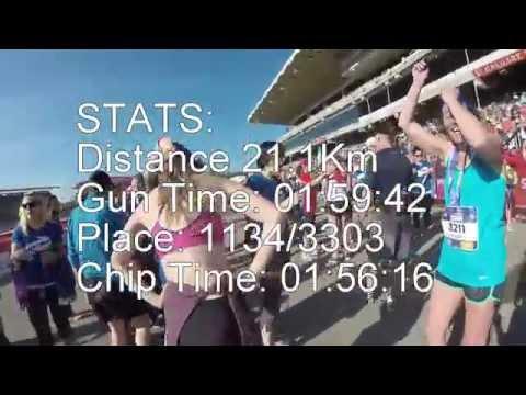 2015 Calgary Half Marathon Luke