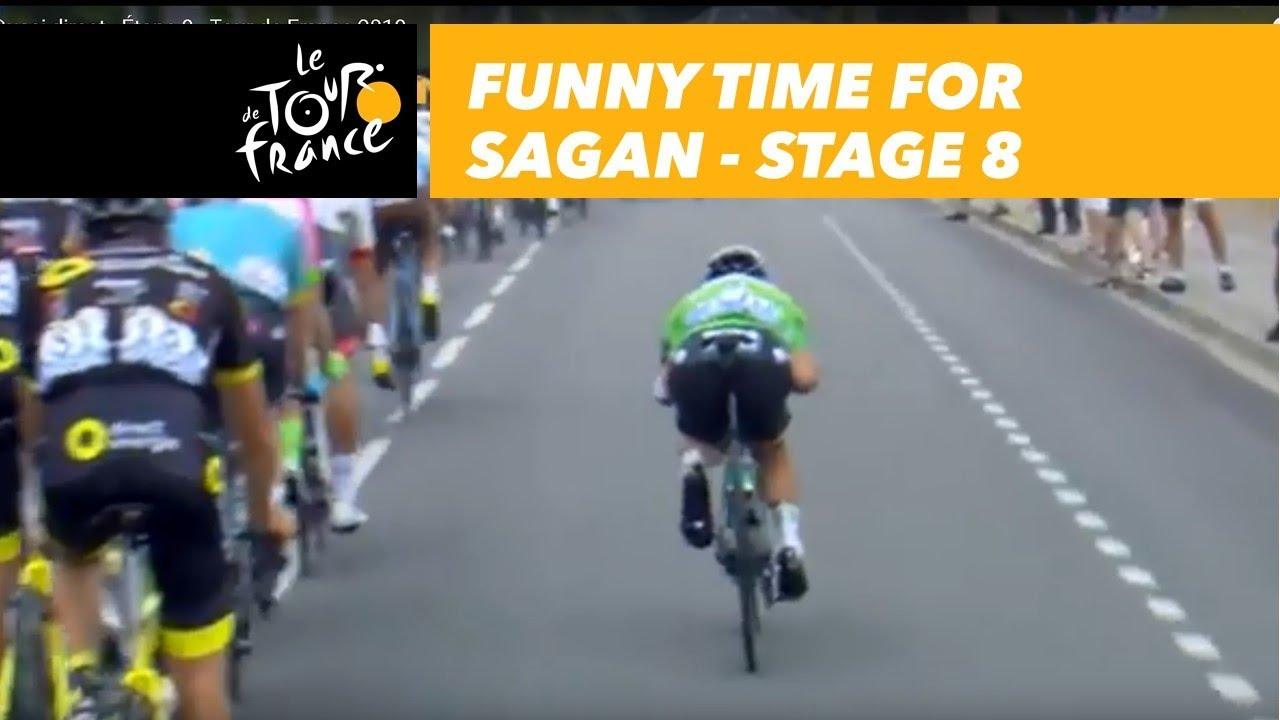 Funny time for Sagan - Stage 8 - Tour de France 2018 - YouTube d3b39ba5e