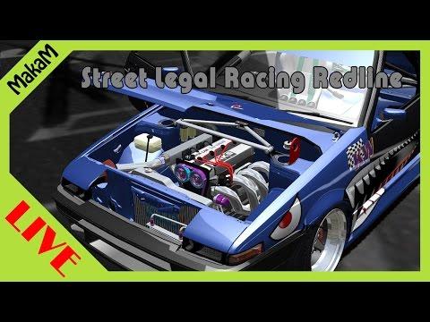 Street Legal Racing Redline LIVE #9 - Alakítunk a verdán!