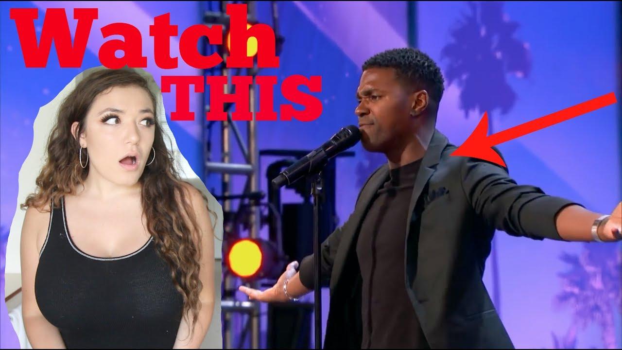 Americas got talent 2017 whitney houston - Johnny Manuel Covers Whitney Houston S I Have Nothing America S Got Talent 2017 Reaction Video
