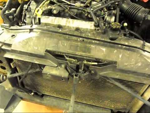 How to change the radiator on a 2003-2008 Mazda6 - YouTube