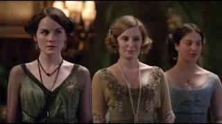 Аббатство Даунтон - знакомство Мэттью и семейства Кроули