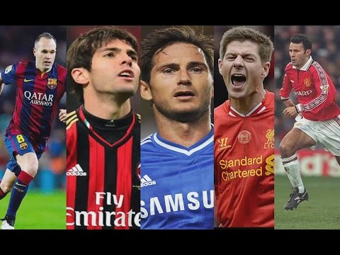 Top Midfielders of the 2000's - Part 1/2 | HD
