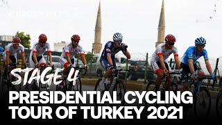 Presidential Cycling Tour of Turkey 2021 - Stage 4 Highlights | Cycling | Eurosport