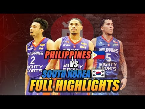 MIGHTY SPORTS PHILIPPINES FULL HIGHLIGHT vs KOREA | July 16, 2019 | 2019 William Jones Cup