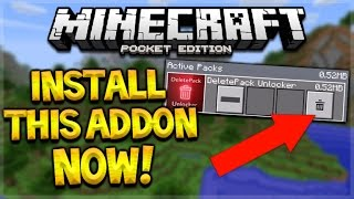 ALL MCPE USERS SHOULD INSTALL THIS ADDON FOR MINECRAFT POCKET EDITION!