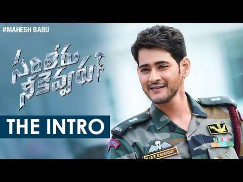 Intro of Mahesh Babu in Sarileru Neekevvaru Movie