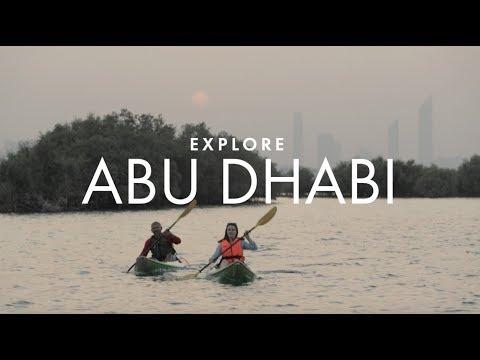 Kayaking through Abu Dhabi's secret wilderness