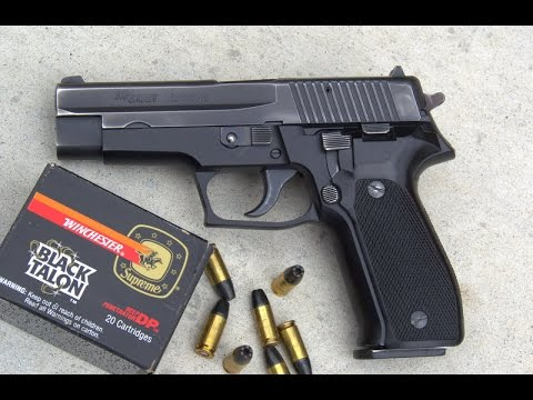 Sig Sauer P226 - Better Than The Army