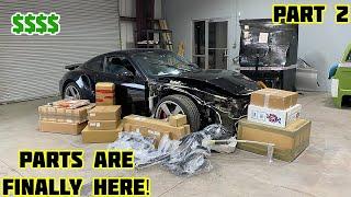 Rebuilding a Wrecked 2015 Porsche 911 Turbo Part 2
