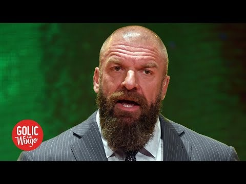 Triple H details WWE's plans for putting on WrestleMania 36  Golic and Wingo