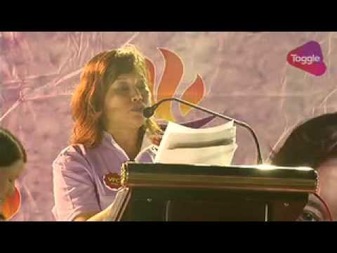 GE2015: Low Wai Choo speaks at PPP rally in Choa Chu Kang, Sep 7