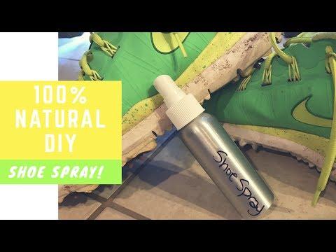 100% Natural DIY Shoe Deodorizing Spray | With Which Hazel & Essential Oils
