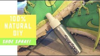 100% Natural DIY Shoe Deodorizing Spray | With Which Hazel u0026 Essential Oils