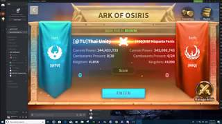 [R6Q] Hispania Fenix #1090 vs [@TU] Thai Unity #1056 - Rise of Kingdoms Ark of Osiris