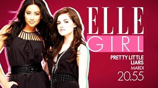 Retrouvez Pretty Little Liars saison 5 sur ELLE Girl ! |  Mardi 21 février à 20h55 | Sur ELLE Girl