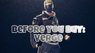 Fortnite Verge Skin and Clean Cut Pickaxe Review | Before You Buy