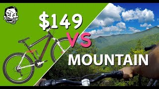 $149 Mountain Bike vs mountain - The Walmart Enduro thumbnail