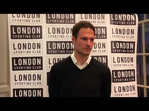 Asmir Begovic at the London Sporting Club