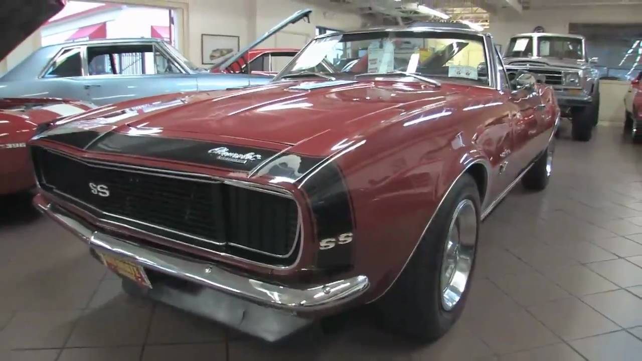 Camaro Ss 68 >> 1967 Chevrolet Camaro RS SS 396 Convertible for sale with test drive, and walk through video ...