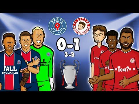 😖SANE DISASTERCLASS!😖 PSG Vs Bayern Munich 0-1 (Champions League Goals Highlights 2021)
