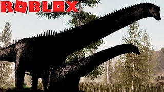 ROBLOX'S NEW DINOSAUR WAS OF TERROR! New Menu and more updates!