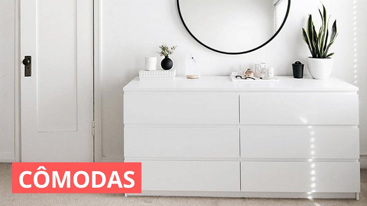 MODELOS DE CÔMODAS - COMO FAZER PARA ESCOLHER
