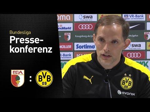 Thomas Tuchel nach dem Spiel in Augsburg | FC Augsburg - BVB 1:1