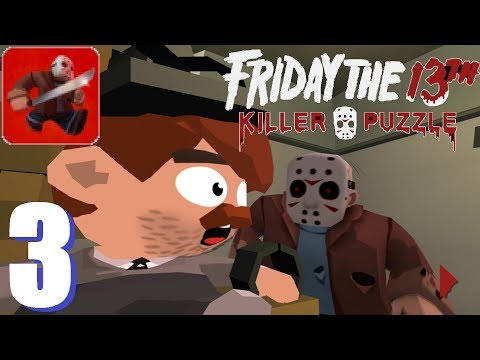 Friday The 13th: Killer Puzzle - Gameplay Walkthrough Part 3 - LOCKDOWN (iOS, Android)