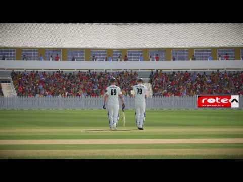 Don Bradman Cricket 17 | English County Cricket | Chasing A Big Score | Hard Difficulty