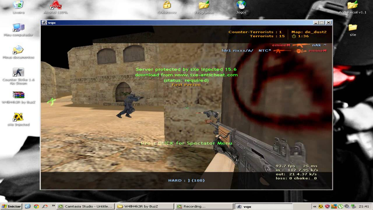 counter strike 1.6 sxe injected parche v23