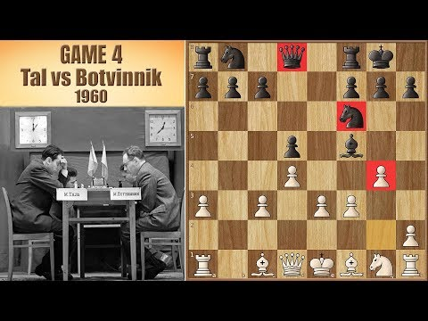 Our Taxi Driver Was Not A Chess Enthusiast | Tal vs Botvinnik 1960. | Game 4