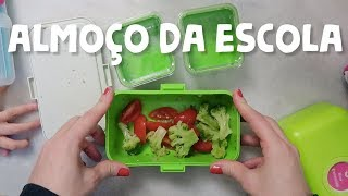 Preparando o almoço escolar #1 | Lancheira da Nina | Thalita Campedelli