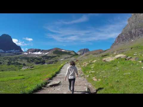Exploring Glacier National Park (4K video)