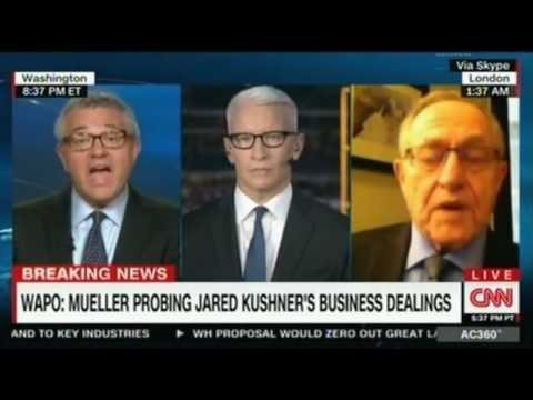 Toobin and Dershowitz clash over whether Trump has the authority to fire Director of the FBI