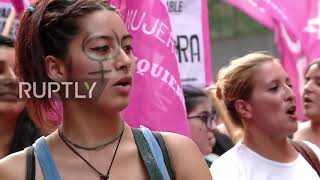 Argentina: Women's movement march for 'safe and legal abortion'