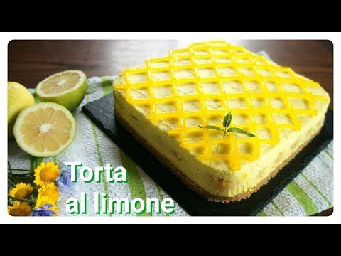 Torta al limone senza cottura