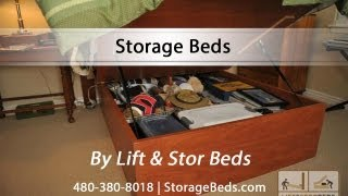 Storage Beds By Lift & Stor