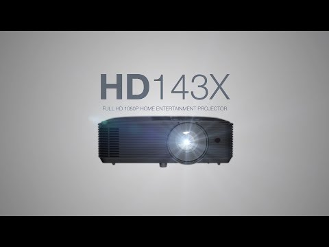 HD143X - big screen entertainment