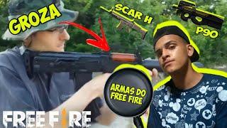 Baixar ARMAS DO FREE FIRE NA VIDA REAL - AMW,SKS,M4A1,VSS