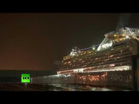 Coronavirus: US citizens aboard quarantined ship to disembark in Yokohama [Streamed live]